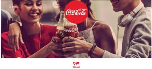 Coca Cola Colour Branding Using Red