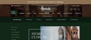 Harrods Colour Branding using Green