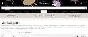 Hotel Chocolat using Black website Effectively
