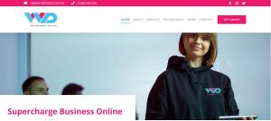 Waterfront Digital Call To Action Highlighted Using Pink
