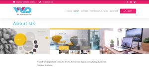 Waterfront Digital Dundee using White Website Effectively